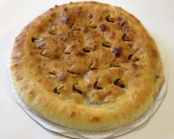 Осетинский пирог с мясом «Фидгун»