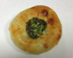 Пирожки с зеленью и сыром