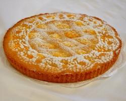 Пирог песочный с цитрусом, лимон, апельсин